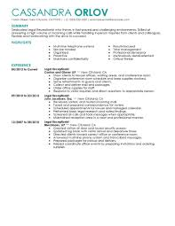 Cosmetology Resume Sample by Fresh Ideas Receptionist Resume Examples 2 Best Example Cv