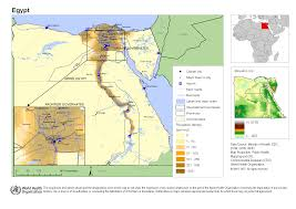 Map Egypt Reference Map Of Egypt Egypt Reliefweb