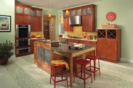 Popular Kitchen Cabinet Styles Kitchen Simple Cheap Creamy Kitchen Cabinet Style With Brown