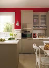 Modern Kitchen Design Images Modern Beige Kitchen Design With Red Walls Digsdigs Where We