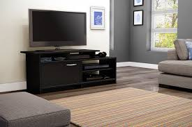Living Room Furniture Tv Cabinet Amazon Com South Shore Step One Tv Stand Pure Black Kitchen