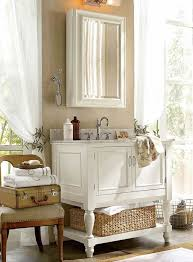 Pottery Barn Bathroom Storage by Fantastic White Wood Bathroom Wall Cabinet From Solid Oak