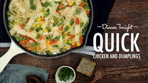 quick chicken and dumplings recipe myrecipes