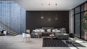 black living room living room