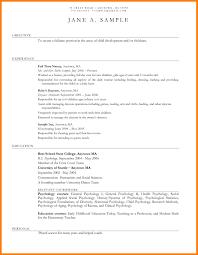 Preschool Resume Template Daycare Teacher Resume 21 Sample Preschool Teacher Resume Cv Cover