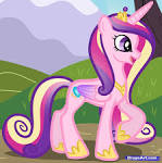 How to Draw Princess Cadence, My Little Pony, Step by Step ... start.speedbit.com