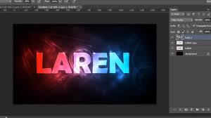 text effects effect photoshop cs6 tutorials youtube