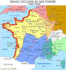 Map Of France And Spain by Demarcation Line France Wikipedia