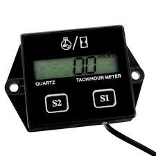 chainsaw tiny tachometer and hour meter stihl husqvarna echo