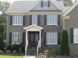 decorating appealing exterior home design with versetta stone and