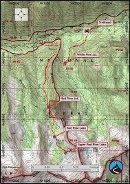 Lake Powell Map Hiking Red Pine Lake Little Cottonwood Canyon Road Trip Ryan