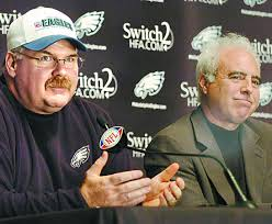 Jeff Lurie and Andy Reid