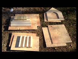 Blueprints To Build A House by Doghouse Build From Lowes Plans Slide Show Youtube