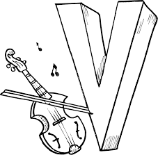 letter v coloring pages getcoloringpages com