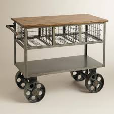 lambourn single drawer kitchen trolley butchers marlborough