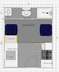 Barn Floor Plans With Loft Free Tiny House Floor Plan 16 U0027 X 20 U0027 Tiny House Plan With Loft