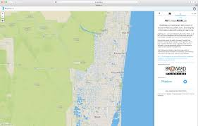 Florida Area Code Map by Mit Map Offers Real Time Crowd Sourced Flood Reporting During