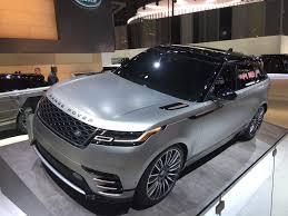 all new 2018 range rover velar automotive rhythms