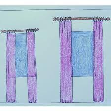 the right and wrong way to hang window drapery panels jenna burger