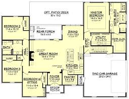 Houses With 2 Master Bedrooms Refuge House Plan U2013 House Plan Zone