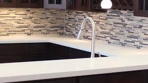 Dark Kitchen Cabinets With Backsplash Dark Kitchen Cabinets Light Countertops Stainless Steel