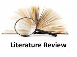 Your Literature Review Written like an academic paper on a topic Should have introduction  literature