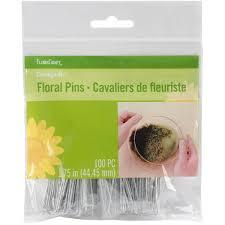 Floral Arrangement Supplies by Amazon Com Floracraft Floral Pins 1 75 Inch 100 Per Package
