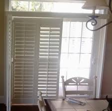 sliding door shutters like how these stack to one side around