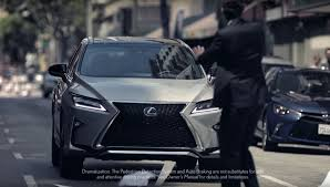 lexus rx 350 battery 2017 lexus rx commercial shows that to err is human autoevolution