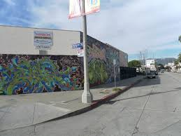 hollywood ca graffiti walls gower st dj renz los angeles walls