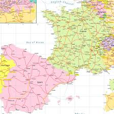 Spain Political Map by Index Of Images Rail