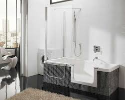 Jetted Tub Shower Combo Soaking Tub Shower Combo Home Design Ideas