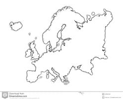 Blank Europe Map by Europe Clipart Europe Continent Pencil And In Color Europe