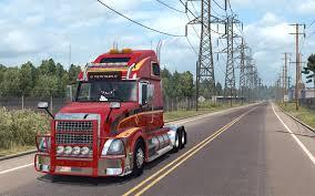american volvo trucks volvo vnl 670 for ats v1 4 1 by aradeth american truck simulator