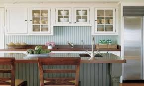 cottage style kitchens cottage kitchen beadboard backsplash easy