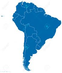 Political Map Of Latin America by Political Map Of South America With All Countries And National