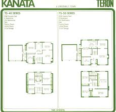 Eichler Homes Floor Plans Mid Century Modern And 1970s Era Ottawa