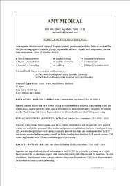 Medical Office Assistant Resume Examples by Resume Examples Medical Office Resume Templates Assistant Free