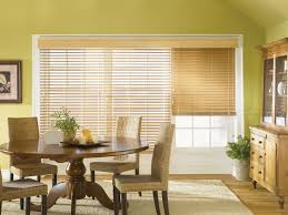 decorating stunning faux wood blinds lowes for adorable window