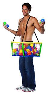 Mens Halloween Costumes Amazon Amazon Rasta Imposta Ball Pit Multi Size Clothing