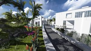 House Architectural The Water Garden House Architectural Design By Stan Wolf And