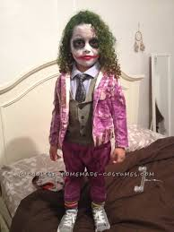 4 year old boy halloween costumes creative and unique homemade joker costume for a toddler joker