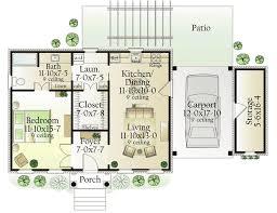 Servant Quarters Floor Plans Best 25 One Bedroom House Plans Ideas On Pinterest One Bedroom