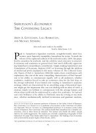 samuelson u0027s economics the continuing legacy pdf download available