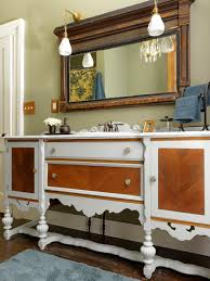 Bathroom Vanity Designs by Repurpose A Dresser Into A Bathroom Vanity How Tos Diy