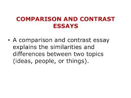 Compare and contrast essays block method konacnih