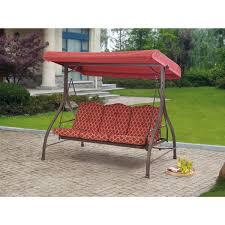 Childrens Garden Chair Mainstays Classic Sling Swing Tan Seats 3 Walmart Com