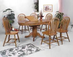 solid wood oval dining table with 4 chairs dream rooms furniture