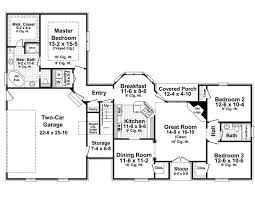 2800 Square Foot House Plans 1600 Square Foot Ranch Home Plans First Floor Plan Of Country
