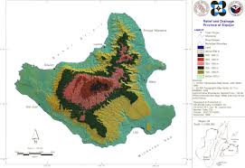Thematic Maps Mysiquijor Com Topographic And Thematic Maps Of Siquijor